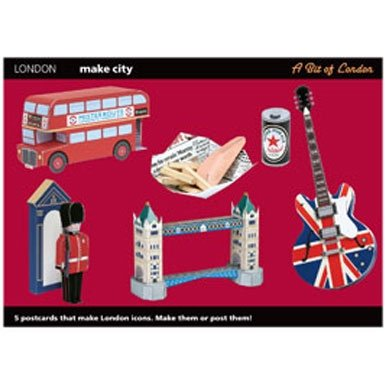 London Souvenir Postcard Set||RNWIT