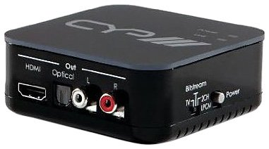 CYP AU-11CD Dé-embarquer audio HDMI 1.3 (5.1) avec répéteur intégré