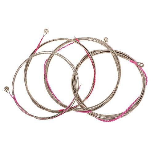 Insieme Di 4pcs Corde Per Chitarra Elettrica Basso Acustico