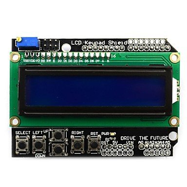 Zcl Character Lcd Input / Output Expansion Board / Lcd Keypad Shield , Blue , 60 X 80 Cm