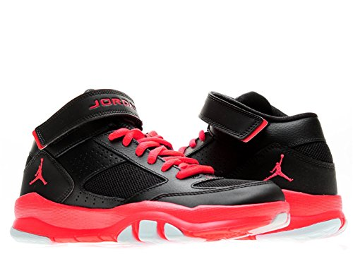 30d5db6d0f4 Nike Air Jordan BCT Mid 2 BG Boys Cross Training Shoes 616363 023 Black 5 5