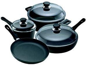 Scanpan Classic Ceramic Titanium 7-Piece Chef's Cookware Set