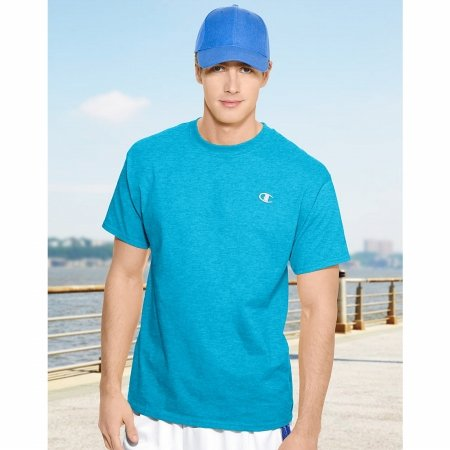 Ocean View Heather Champion Cotton Jersey mens T Shirt - Size XL