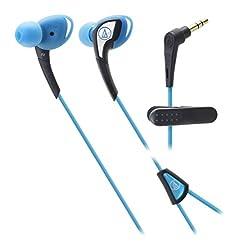 Audio-Technica-Sonic Sport 2 Inner Ear Headphones-Blue