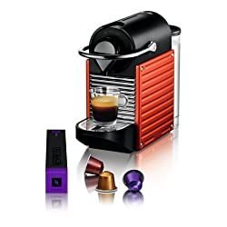 Pixie Electric Red - Coffee Maker from NESPRESSO