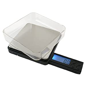 American Weigh Black Blade V2 Digital Pocket Scale, 50 by 0.01 G