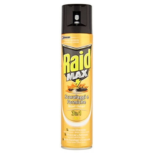 raid-max-scarafaggi-formiche-3-in-1-insetticida-spray-300-ml