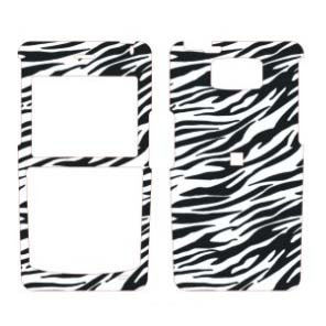 Samsung I617 Blackjack 2 Snap on Hard Crystal Case Exotic Series Safari Zebra