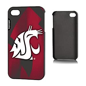 Buy NCAA Washington State Cougars iphone 4 4S Case by Pangea Brand