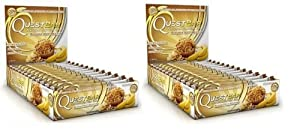 Quest - Protein Bars, White Chocolate Raspberry - 2.12oz (Pack of 24)