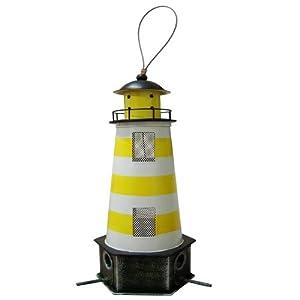 Habau 1786 Futtersilo Leuchtturm gelb