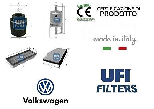 kit-4-filtri-tagliando-ufi-vw-golf-vi-14-tsi-118-kw