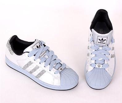 Femmes Adidas Superstar - Adidas Superstar Femmes Argent Trainers Dp B003haw7ho Pas Cher