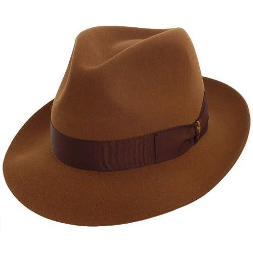 Borsalino Vincenzo Fur Felt Fedora Hat