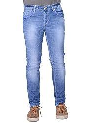 Aussum Mens Slim Fit Solid Jeans