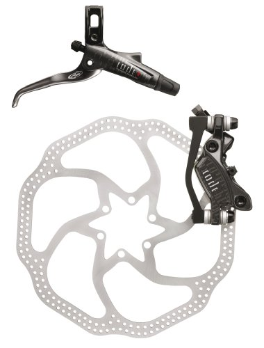 Avid Code R Rear Disc Brake with Right Lever (200mm HS1 Rotor, 1600mm Hose)