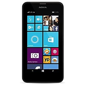 Nokia Lumia 635, Black 8GB (AT&T) with Bonus Orange Back Cover