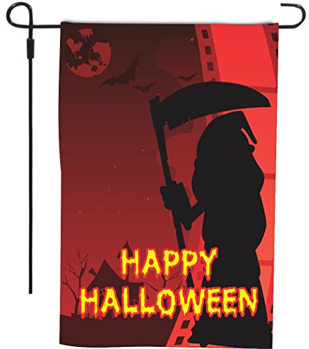 Happy Halloween Grim Reaper with