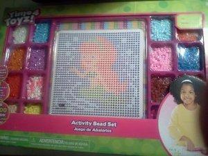 Child's Activity Bead Set --- Time 4 Toyz