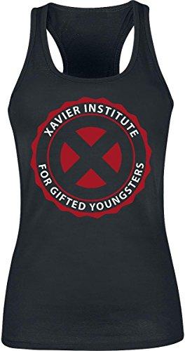 X-Men Xavier Institute Top donna nero M