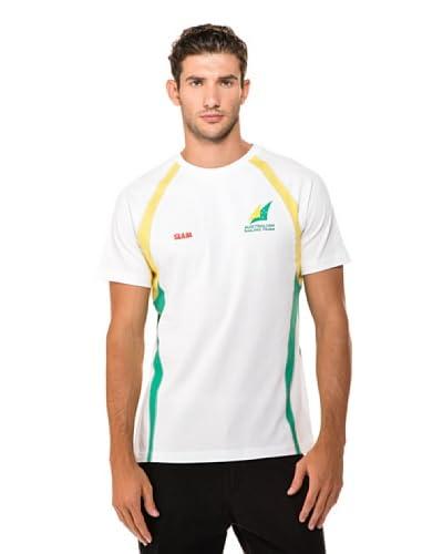Slam Camiseta Manga Corta Aus Man Ss Blanco