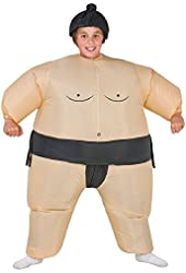 Boys Inflatable Sumo Wrestler Halloween Costume