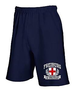 T-Shirtshock - Jogginghose Shorts TSTEM0268 freiburg im breisgau tshirt