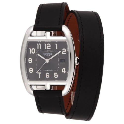 [エルメス]HERMES 腕時計 ケープコッドトノー ドゥブルトゥール グレー文字盤 二重巻カーフ革ベルト CT1.710.230.VBN1 レディース 【並行輸入品】