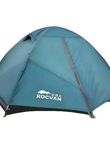 ZQ-ROCVAN-3-Season-A092B-2-Person-Single-Layer-Tear-Resistant-Aluminum-Pole-Camping-Tent