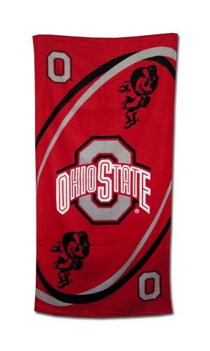 Ohio State Buckeyes Fiber Reactive Pool/Beach/Bath Towel (Team Color)