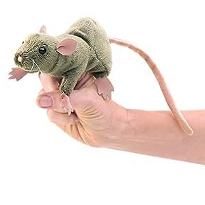 Folkmanis Mini Rat Finger Puppet