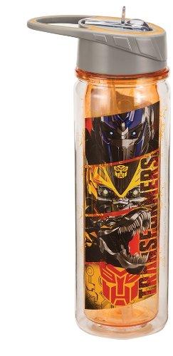 Vandor 41075 Transformers Movie Heroes 18 oz Tritan Water Bottle, Multicolor