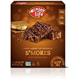 Enjoy Life, 100% Natural Decadence, S'mores Soft Baked Bars, 5 Count, 6oz Box (Pack Of 4)