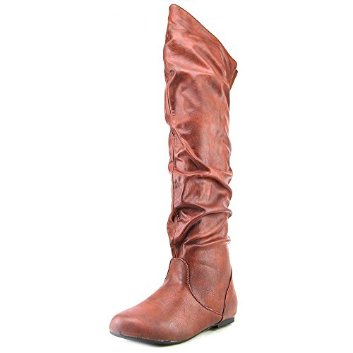 ROF-TREND-HI-Over-the-Knee-Thigh-High-Flat-Slouchy-Shaft-Low-Heel-Boots