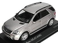 ミニチャンプス[Minichamps]  【034570】 1/43 メルセデス・ベンツ ML63 AMG 06 シルバー