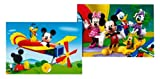 Educa 13498 Pack of 2 12-Piece Jigsaw Puzzle Mickey Mouse Club House