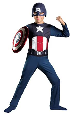Disguise Captain America Avengers Costume