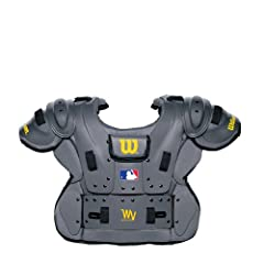 Wilson Pro Platinum Umpire Chest Protector by Wilson