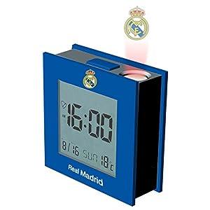 Despertador proyector Real Madrid