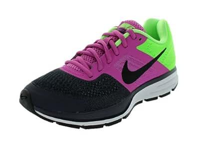 Nike Women's Air Pegasus+ 30 Club Pink/Black/Grdrn/Flsh Lm Running Shoes 6 Women US