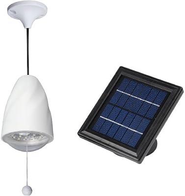MicroSolar - High Lumen - 20 LED - Lithium Battery - Solar Shed Light / Solar Barn Light