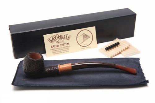 Savinelli Qandale Rustic 626 Tobacco Pipe