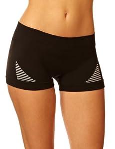 Helly Hansen Women's Dry Revolution Seamless Boxer Short - Black, Medium