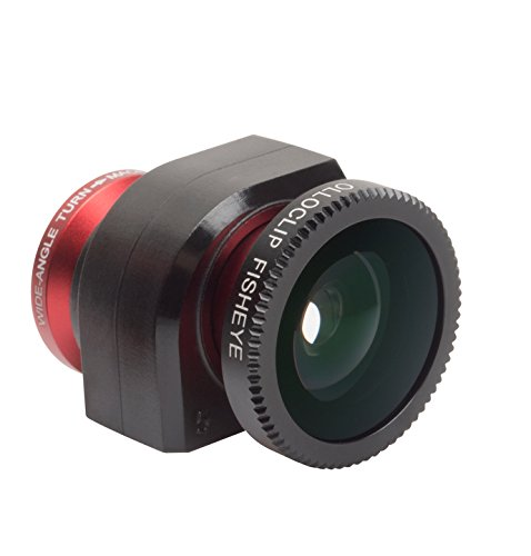 olloclip original 3-in-1 Lens iPhone 5/5s Red