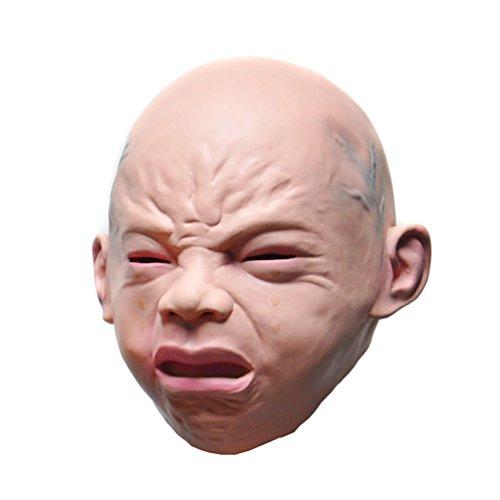 KINGMAS® Cry Baby Latex Mask