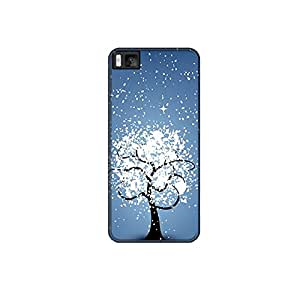 Vibhar printed case back cover for Xiaomi Mi 4i SnowTree