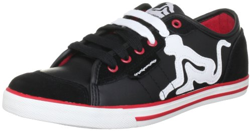 Drunknmunky Unisex New England Classic Black Lace Ups Trainers NEWENGCLAS 5 UK