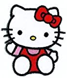 Hello Kitty con plancha aufbügelmotiv 14254