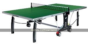 CORNILLEAU Sport 300S Table de Ping-Pong d'extérieur Verte Sur Roulettes 5mm