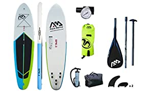 "Spk-3 Inflatable Stand up Paddle Board 10'10"", Carbon Paddle, Leash, Drybag Comb from Aqua Marina"